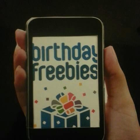More birthday fun! #birthday #freebies - Birthday Freebiess post on Vine