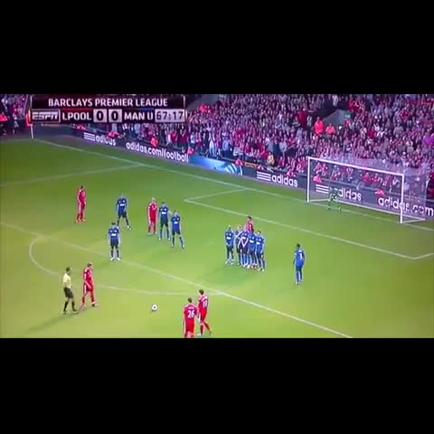 Gerrard, Incredible Free Kick. - Duncan.s post on Vine