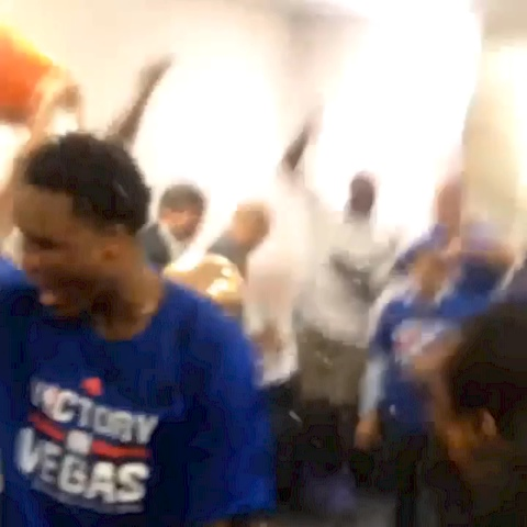 Sacramento Kingss post on Vine - Locker room celebration! - Sacramento Kingss post on Vine