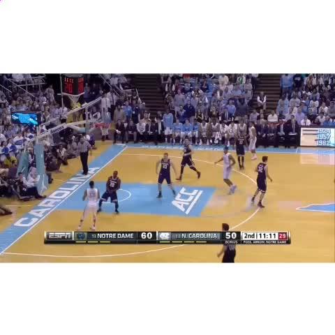 "Watch North Carolina Basketball's Vine ""Theo Pinson gets ..."