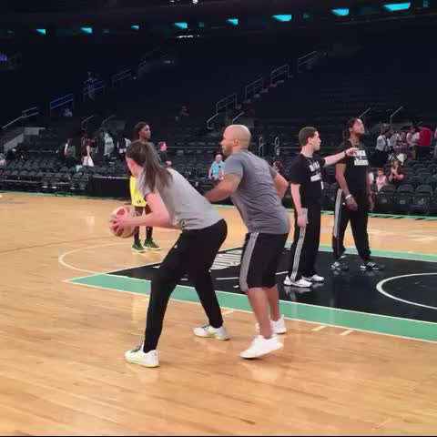 "Watch WNBA's Vine ""Breanna Stewart in the po.. NOPE! Step ..."