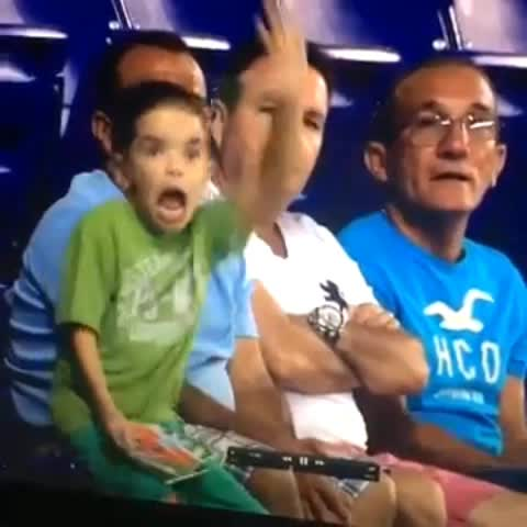 Vine by Funny Vines - Kid belly dancing at FIFA World Cup