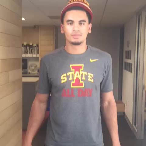 Naz Long has a quick message for #cyclONEnation - Iowa State Athleticss post on Vine
