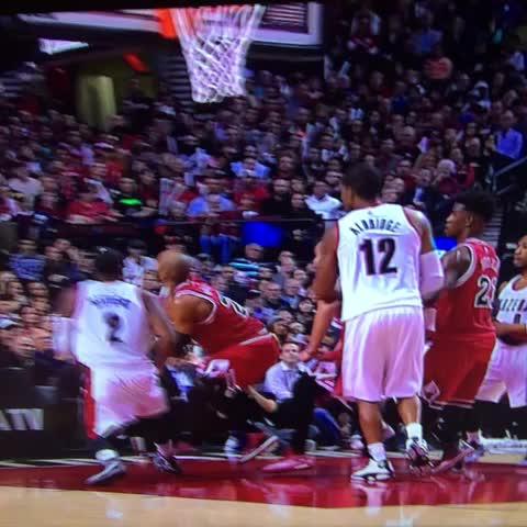 Taj ankle injury slow motion. - Sports Mockerys post on Vine