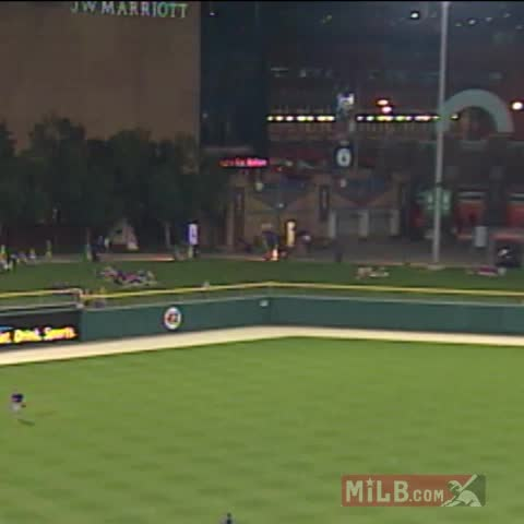 Vine by MLB - Minor League, major play.
