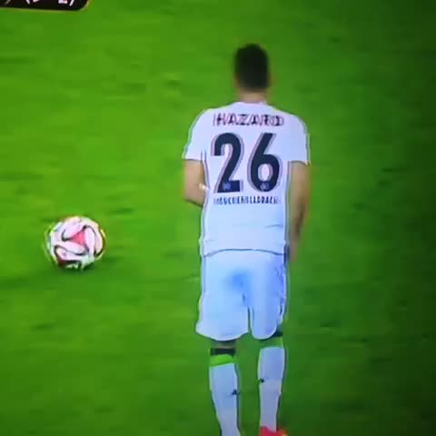 Zak Dee Patmores post on Vine - Thorgan Hazard goal tonight. Amazing. #football #amazing - Zak Dee Patmores post on Vine