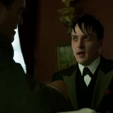 Its a good name after all. #Penguin #gotham - Gothams post on Vine