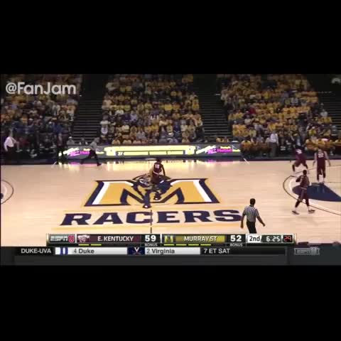 Vine by FanJam - Cameron Payne with the shot boi #NBADraft #NBA #Basketball #MurrayState