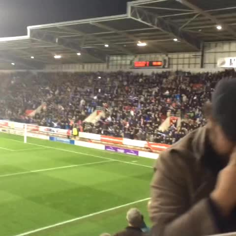 Sam Cookes post on Vine - Birmingham fans at the New York Stadium #BCFC - Sam Cookes post on Vine