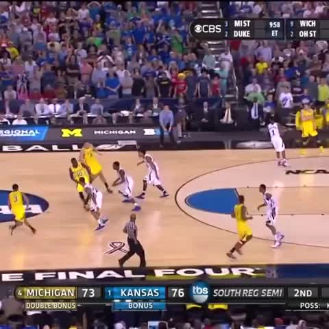 Vine by Full Court Prez - Remember when Trey Burke did this? #TheShot