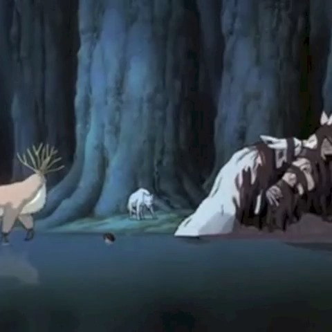 morisukes post on Vine - シシ神 #morisuke  #もののけ姫 #princessmononoke  #ghibli - morisukes post on Vine