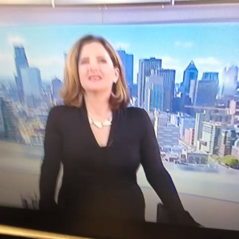 """Watch Les Perreaux's Vine """"Something jarring about a classy woman like Geneviève Asselin passing ..."""
