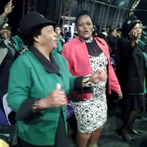 Vine by Christelle du Toit - Celebrating #RuthMompati life in Vryburg #sabcnews