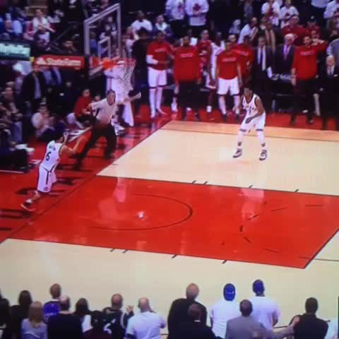 Vine by RealGM - Kyle Lowry sends it to overtime from halfcourt!!!