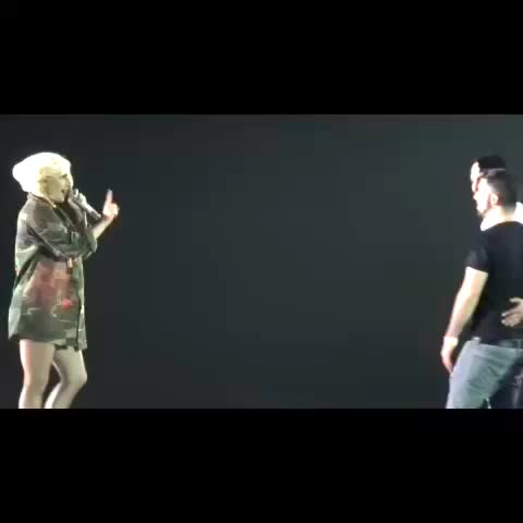 Lady Gaga Dailys post on Vine - Lady Gaga brings Little Monster on stage and watches him propose to his boyfriend! - Lady Gaga Dailys post on Vine