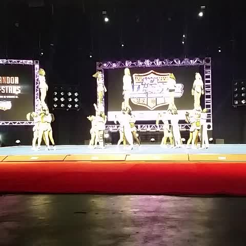Vine by Varsity All Star - Another beautiful performance by Brandon All Stars - Senior Black #NCAnationals