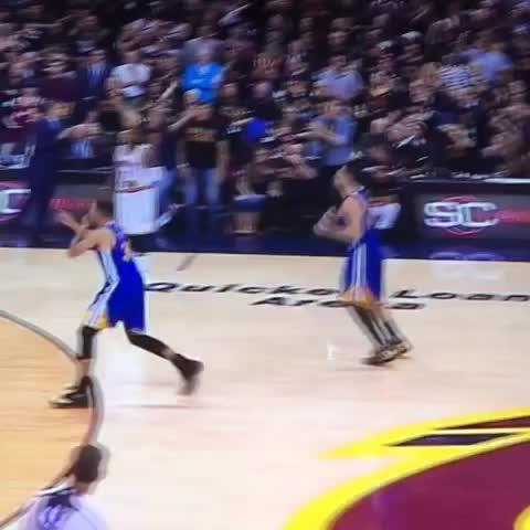 This is why Stephen Curry was fined, not suspended