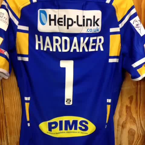 leedsrhinoss post on Vine - Shirts all ready to pack for Wembley, great work by @glynnbell65 - leedsrhinoss post on Vine