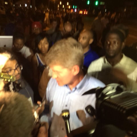 MO Attorney General Chris Koster in #Ferguson right now. - Antonio Frenchs post on Vine