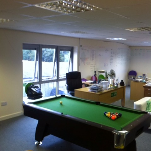 Nick Mahers post on Vine - The new pool table takes pride of place at TJ Peel York #gameofpool #poolatwork #funatwork - Nick Mahers post on Vine