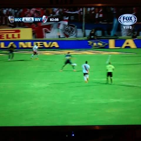 Vine by Boca Juniors - ¡GOOOOOOL DE #BOCA! #Calleri para el 4-0.