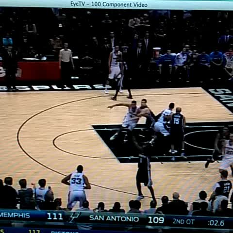 Duncan! For the tie! Triple OT - Vine by BBALLBREAKDOWN - Duncan! For the tie! Triple OT