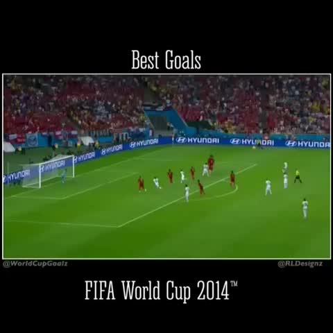 Vine by Best Goals ♠️ - #gol de #Chile (#Aranguiz) en la #fifaworldcup2014 #worldcup. #spain 0-2 #Chile