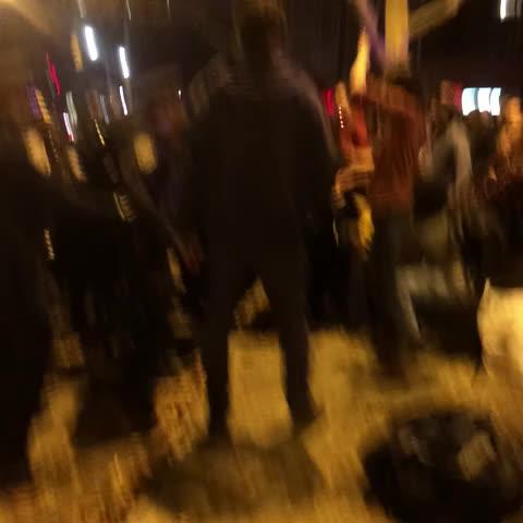 Lauren Gambinos post on Vine - Protests just got violent #ferguson - Lauren Gambinos post on Vine