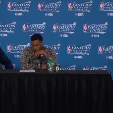 Vine by Bleacher Report - Kyle Lowry was stunned 😂