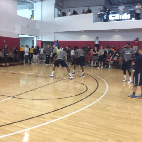 NBAs post on Vine - Some post @usabasketball practice one-on-one. - NBAs post on Vine