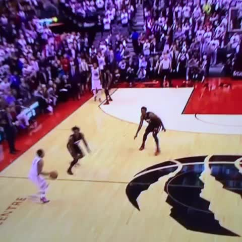 Vine by LegionNBA - HOLY SHIT KYLE LOWRY!!!!