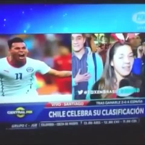 Vine by moiistark - Cómo crees que le va a ir a #Chile frente a #Argentina ?