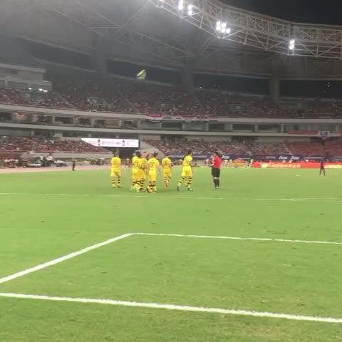 Vine by Borussia Dortmund - Jaaaaaaaaa! #mufcbvb 1-4