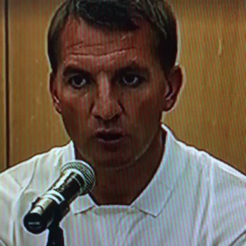 """Hey Brendan, think youll do a Tottenham this season?"" #THFC #LFC #COYS #YNWA #RodgersOut - tehTrunks post on Vine"