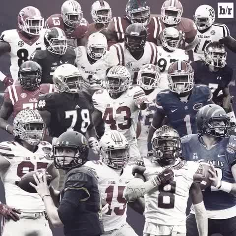 Vine by Bleacher Report - 21 underclassmen were take in the 1st round of the NFL Draft. #Views