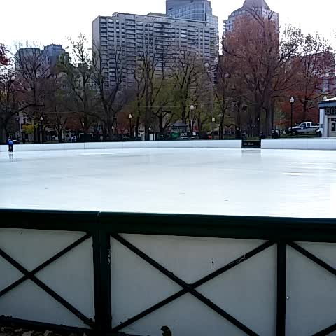 You know its the holiday season in Boston when you see someone skating on the @BosComFrogPond. - @OnlyInBOSs post on Vine