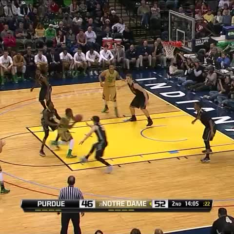 Hey #SCTop10, we think DJ has secured the top spot for tonight already ... - Vine by Notre Dame MBB - Hey #SCTop10, we think DJ has secured the top spot for tonight already ...