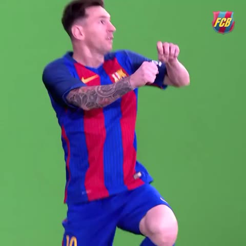 Vine by FC Barcelona - The making of the video of the new FC Barcelona kit