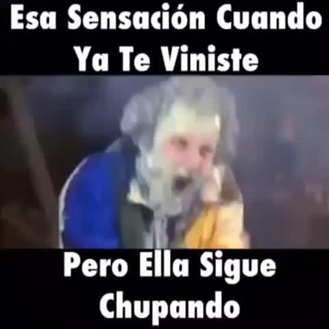Humor Colombianos post on Vine - Esa sensación cuando ya te viniste pero ella sigue chupando - Humor Colombianos post on Vine