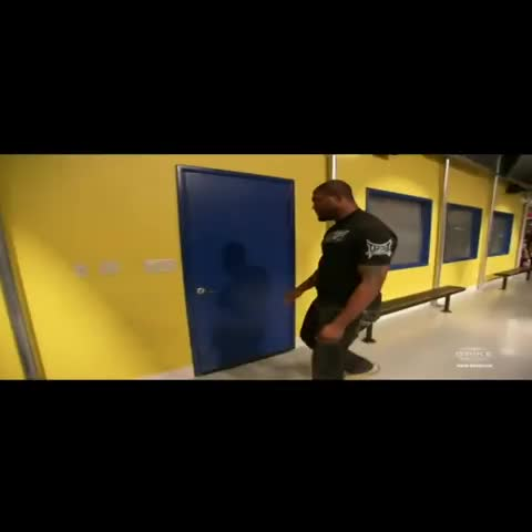 Vine by BreatheSport - Whod want to be a door #UFC @BreatheSport