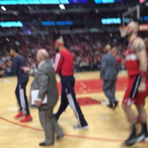 Wizards head to the bench up 6 w/42.6 left in OT #WizBulls #dcRising - Washington Wizardss post on Vine