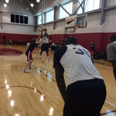 NBAs post on Vine - Andre Drummond, hurtin the rim! #USABMNT - NBAs post on Vine
