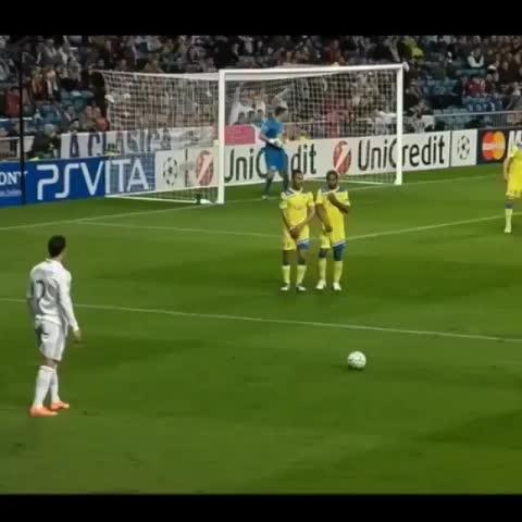Vine by Nosballgi - sick view from Ronaldos freekick