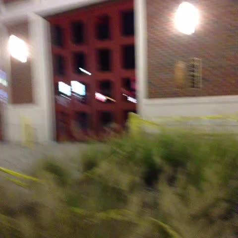 The STL County police walk towards Antonio French but quickly walk back #Ferguson - Nettas post on Vine