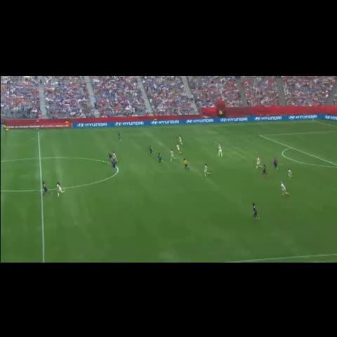 Vine by Womens Soccer United - What a way to net your hat-trick! Carli Lloyd lobs keeper from the halfway line in the FIFA Womens World Cup 2015 final