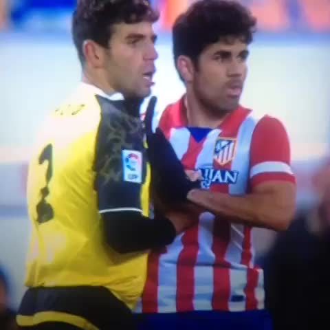 Vine by Follow @FootyHumour on Twitter - How to deal with Diego Costa