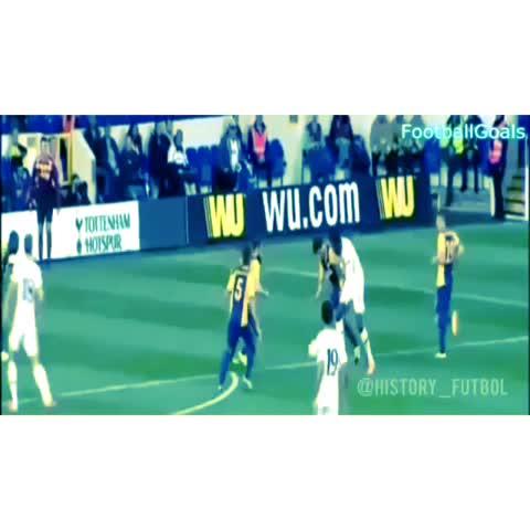 ¡Espectacular GOLAZO de rabona! #Futbol - Historia del Futbols post on Vine