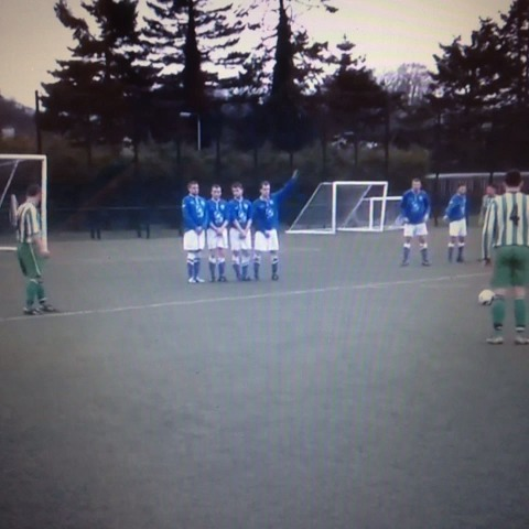 Mike Vaughans post on Vine - Free kick master class with Camlough Rovers Seamus Kane! - Mike Vaughans post on Vine