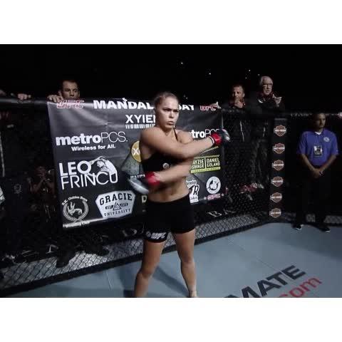 I animated #RondaRousey going #SuperSaiyan during #UFC175 . Audio by AJ ORBIT . #ufc - Vine by Proxyrax - I animated #RondaRousey going #SuperSaiyan during #UFC175 . Audio by AJ ORBIT . #ufc