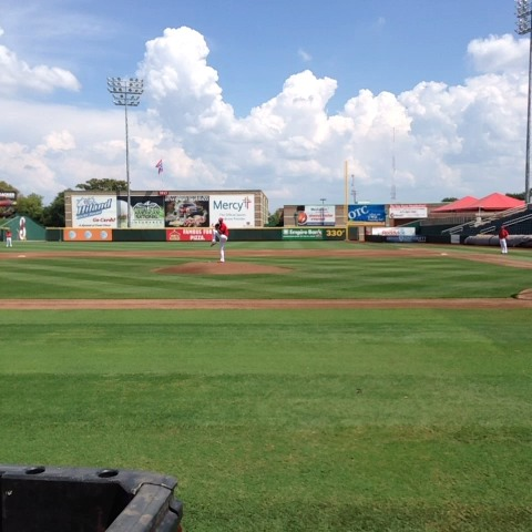 #Wachas first pitches w/ the #SgfCards. #ktts #stlcards @kttsnews - Chase Sniders post on Vine